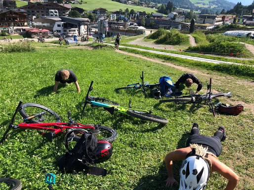 1. Technik-Training in Leogang