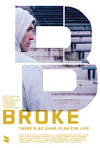 Broke Key Art Poster - Property of Scope Red