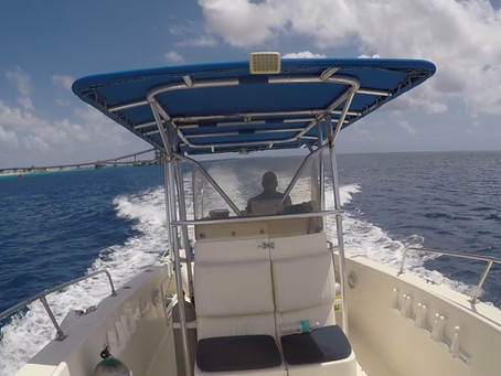Bonaire Boat Diving with Ebby Jules!