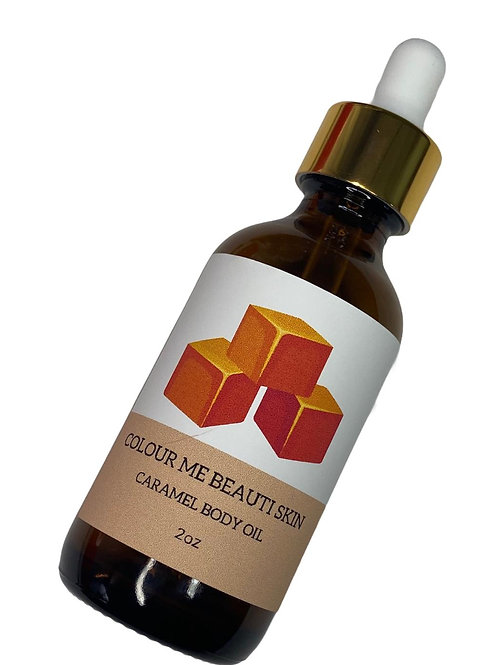 Caramel Body Oil