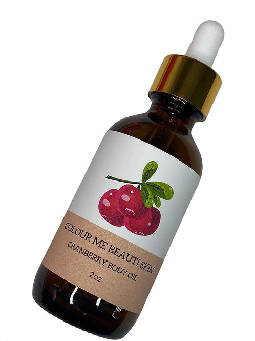 Cranberry Body Oil