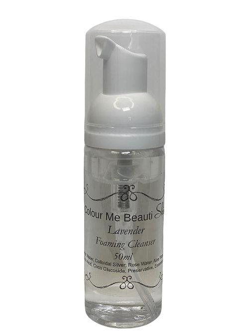 Lavender Foaming Facial Cleanser