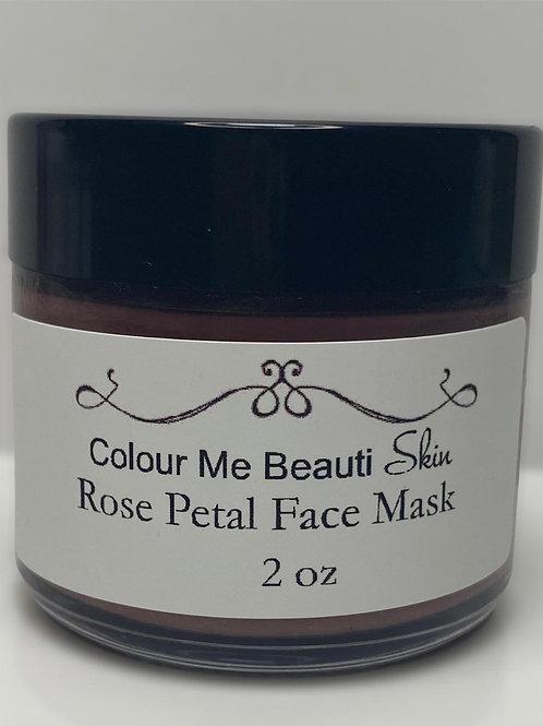 Rose Petal Face Mask
