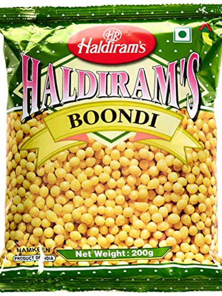 HALDIRAM BOONDI 150GM