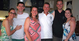 Scott Granger and his family members - H