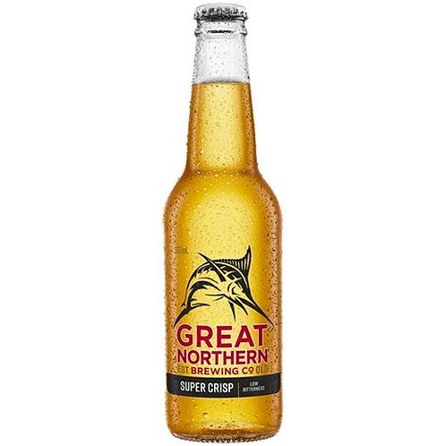 Great Northern Super Crisp Bottles 24x330mL 3.5%