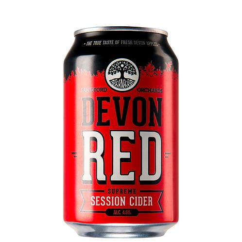 Devon Red Apple Cider Cans 6x330mL 4.5%