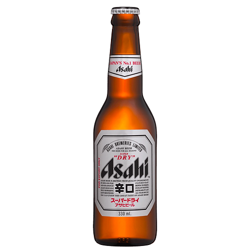 Asahi Super Dry Bottles 330mL 5%
