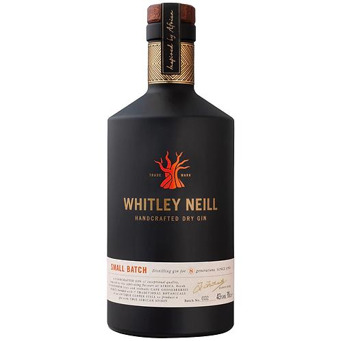 Whitley Neill Original Dry Gin 700mL 43%