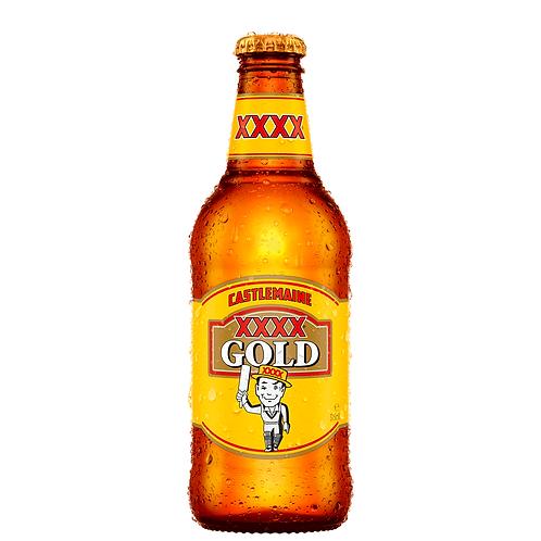 XXXX Gold Bottles 375mL 3.5%