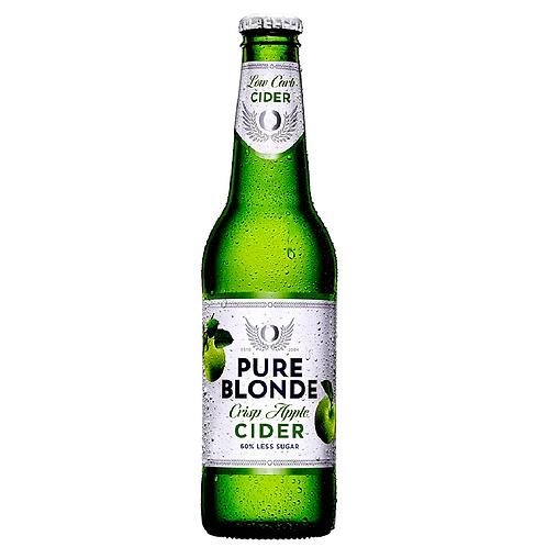 Pure Blonde Organic Cider Bottles 6x355mL 4.2%