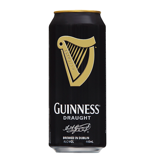Guinness Draught Cans 440mL 4.1%
