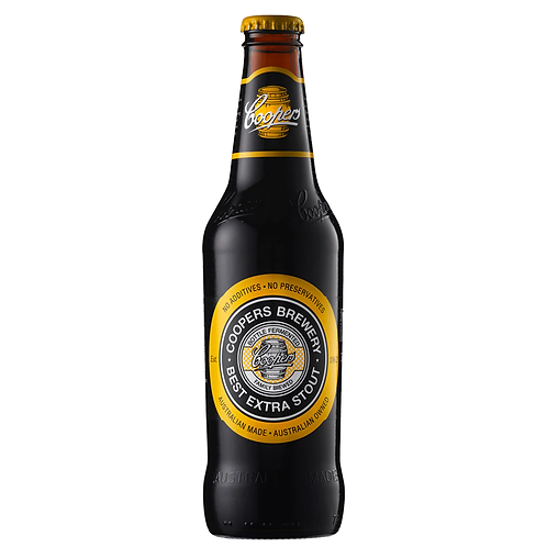 Coopers Best Extra Stout Bottles 375mL 6.3%