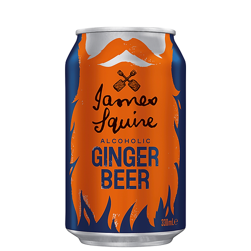 James Squire Ginger Beer Cans 330mL 4%