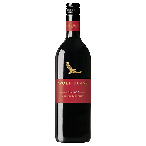 Wolf Blass Red Label Shiraz Cabernet 750mL 13.8%
