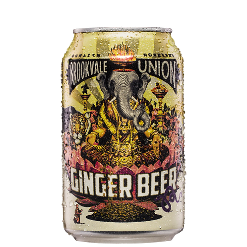 Brookvale Union Ginger Beer Cans 330mL 4%