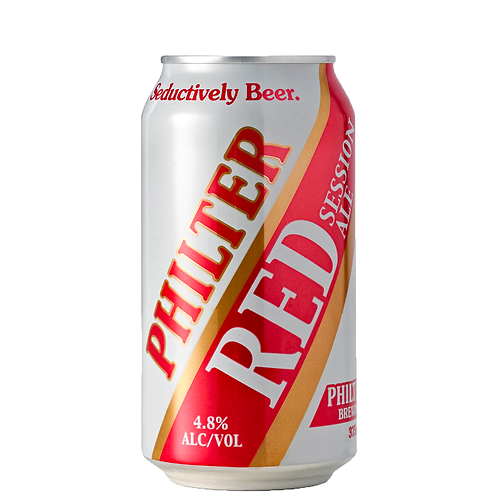 Philter Red Session Ale Cans 375mL 4.8%