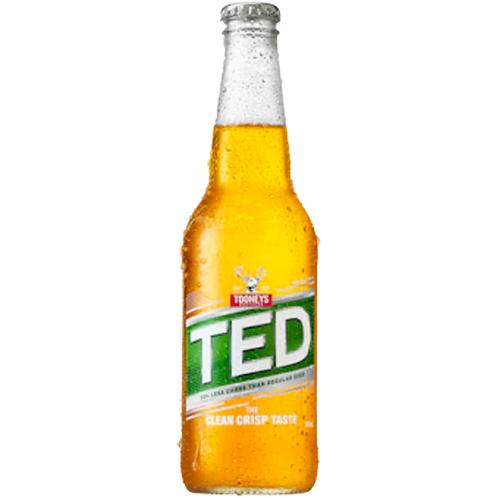 Tooheys Extra Dry Bottles 24x345mL 4.2%
