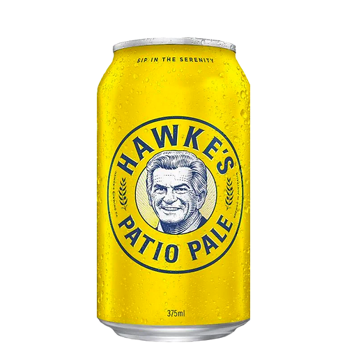 Hawkes Brewing Co Patio Pale Cans 375mL 4.5%