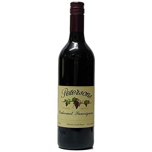 Petersons Cabernet Sauvignon 750mL 15%