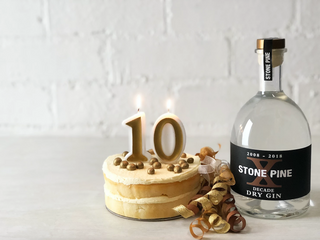 Ten years & ten botanicals for Stone Pine Distillery anniversary gin