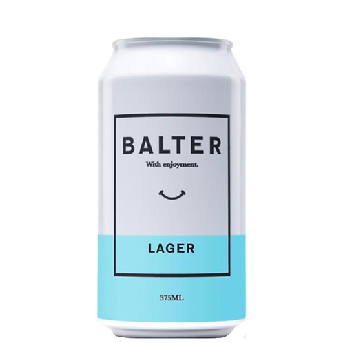 Balter Lager Cans 375mL 4.2%