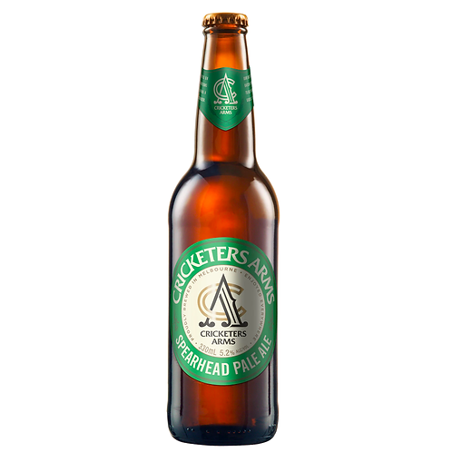 Cricketers Arms Spearhead Pale Ale Bottles 330mL 5.2%