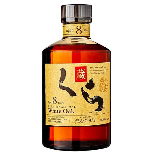 Kura White Oak Japanese Single Malt 8 Years Old 720mL 40%