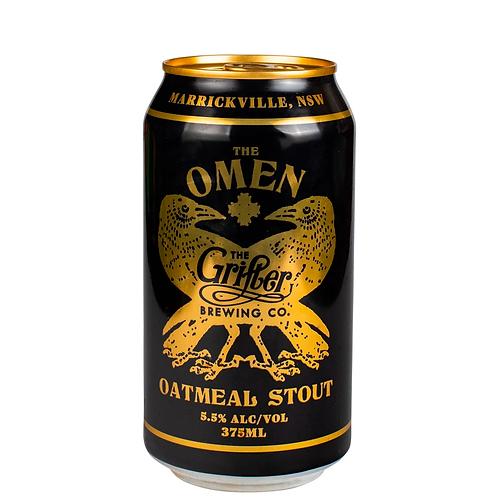 Grifter The Omen Oatmeal Stout Cans 375mL 5.5%