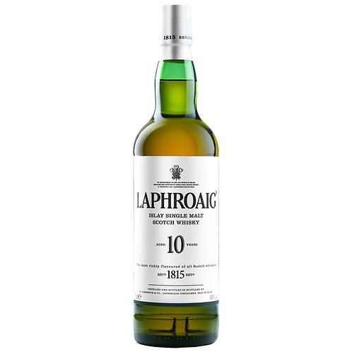 Laphroaig 10 Year Old Single Malt Scotch 700mL 40%