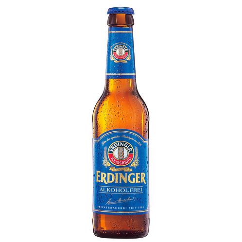 Erdinger Non-Alcoholic Wheat Beer Bottles 330mL 0.5%