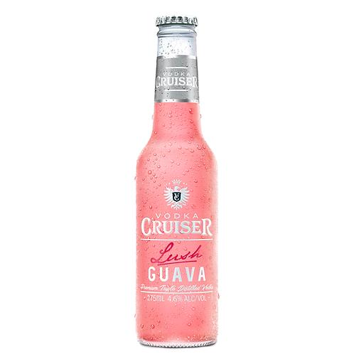 Vodka Cruiser Lush Guava Bottles 275mL 4.6%