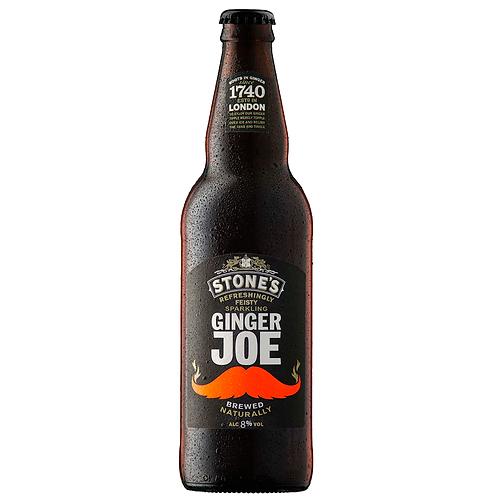Stone's Ginger Joe Alcoholic Ginger Beer Bottles 500mL 8%