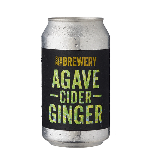 Sydney Brewery Agave Ginger Cider Cans 355mL 4.5%