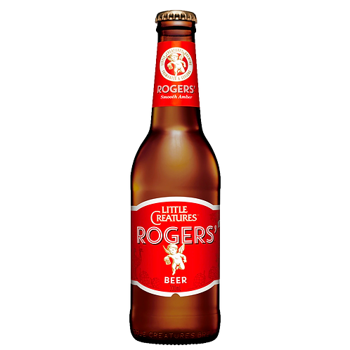 Little Creatures Rogers' Amber Ale Bottles 330mL 3.8%