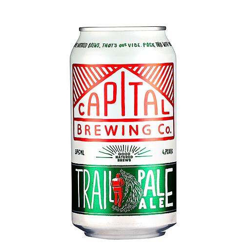 Capital Brewing Co. Trail Pale Ale Cans 375mL 4.7%