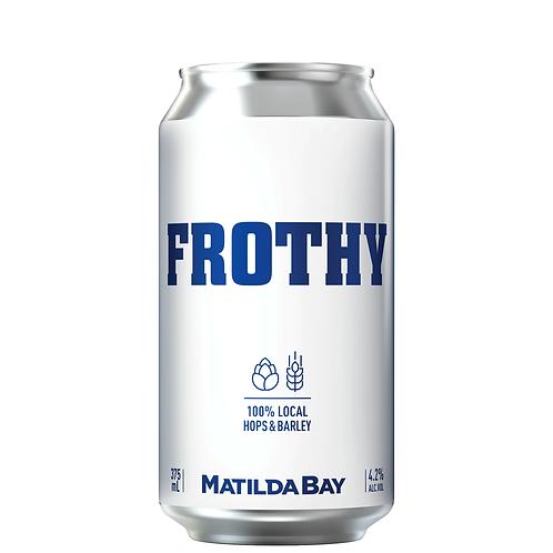 Matilda Bay Frothy Cans 375mL 4.2%