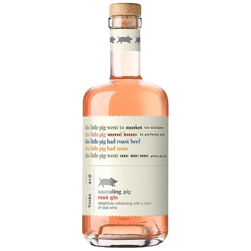 Squealing Pig Rose Gin 700mL 40%