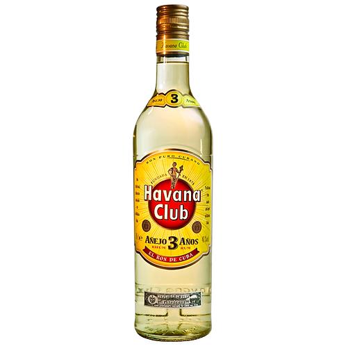 Havana Club Añejo 3 Años Rum 700mL 40%