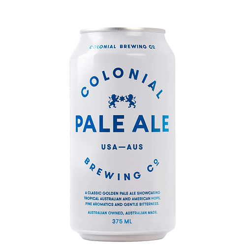 Colonial Brewing Co. Pale Ale Cans 375mL 4.4%