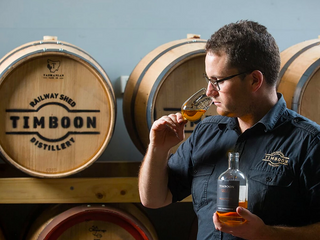 Meet the Distiller - Josh Walker from Timboon Railway Shed Distillery in Timboon, VIC