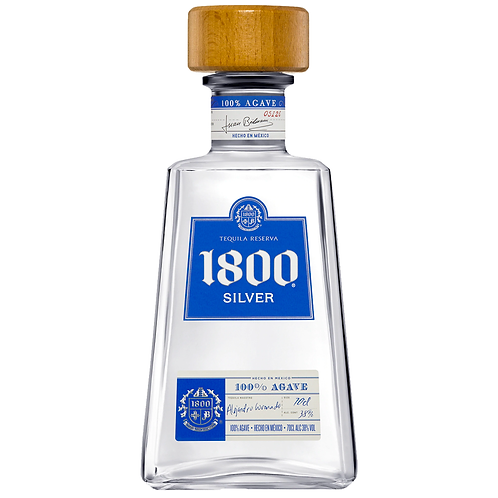 1800 Silver Tequila 700mL 38%
