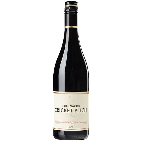Brokenwood Cricket Pitch Cabernet Merlot Shiraz 750mL 14%