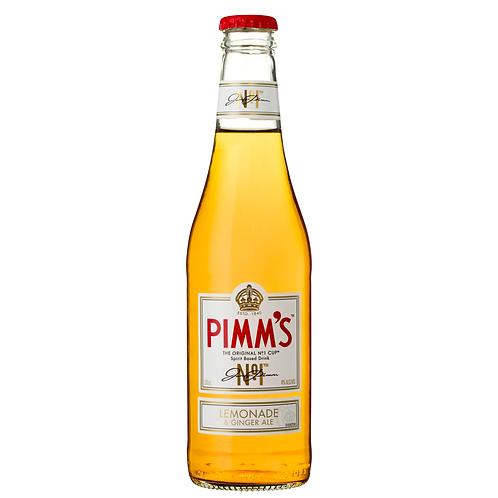 Pimm's No 1 Cup Lemonade & Ginger Ale Bottles 330mL 4%