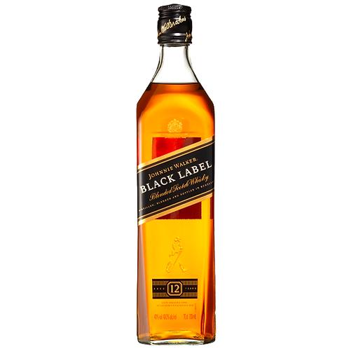 Johnnie Walker Black Label Scotch 700mL 40%