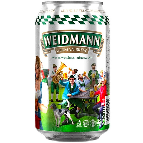 Weidmann German Pilsner Cans 24x330mL 4.2%