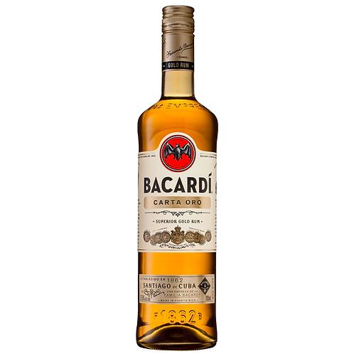Bacardi Carta Oro Superior Gold Rum 700mL 37.5%