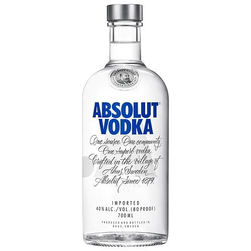 Absolut Vodka 700mL 40%