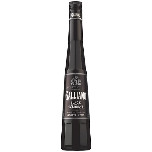 Galliano Black Sambuca 700mL 30%