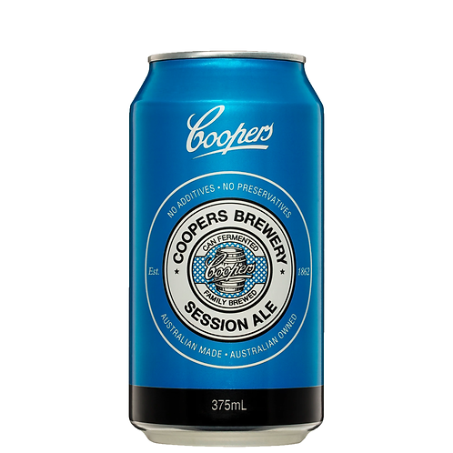 Coopers Session Ale Cans 375mL 4.2%